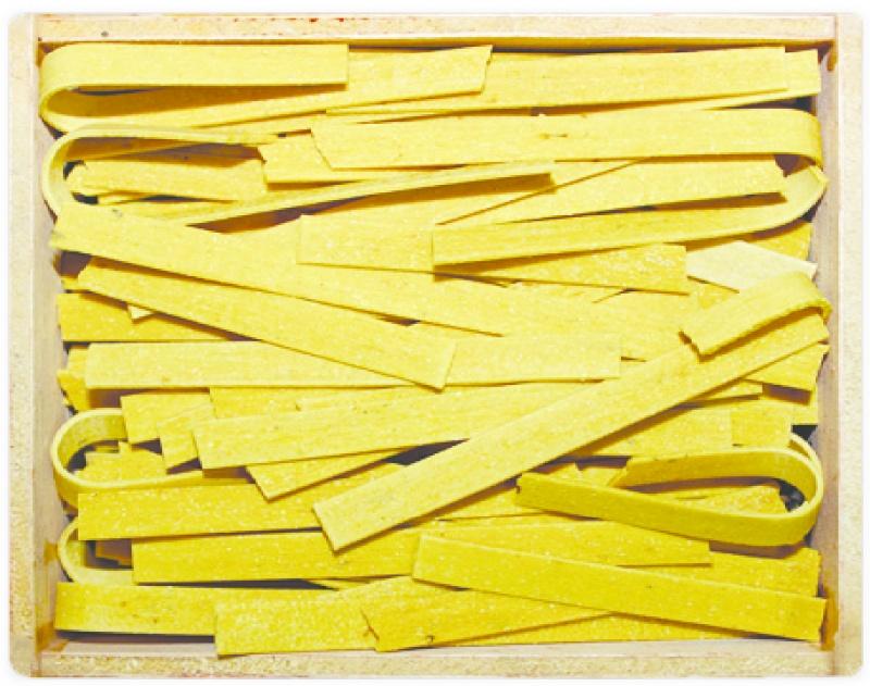 Tallarines de trompeta amarilla