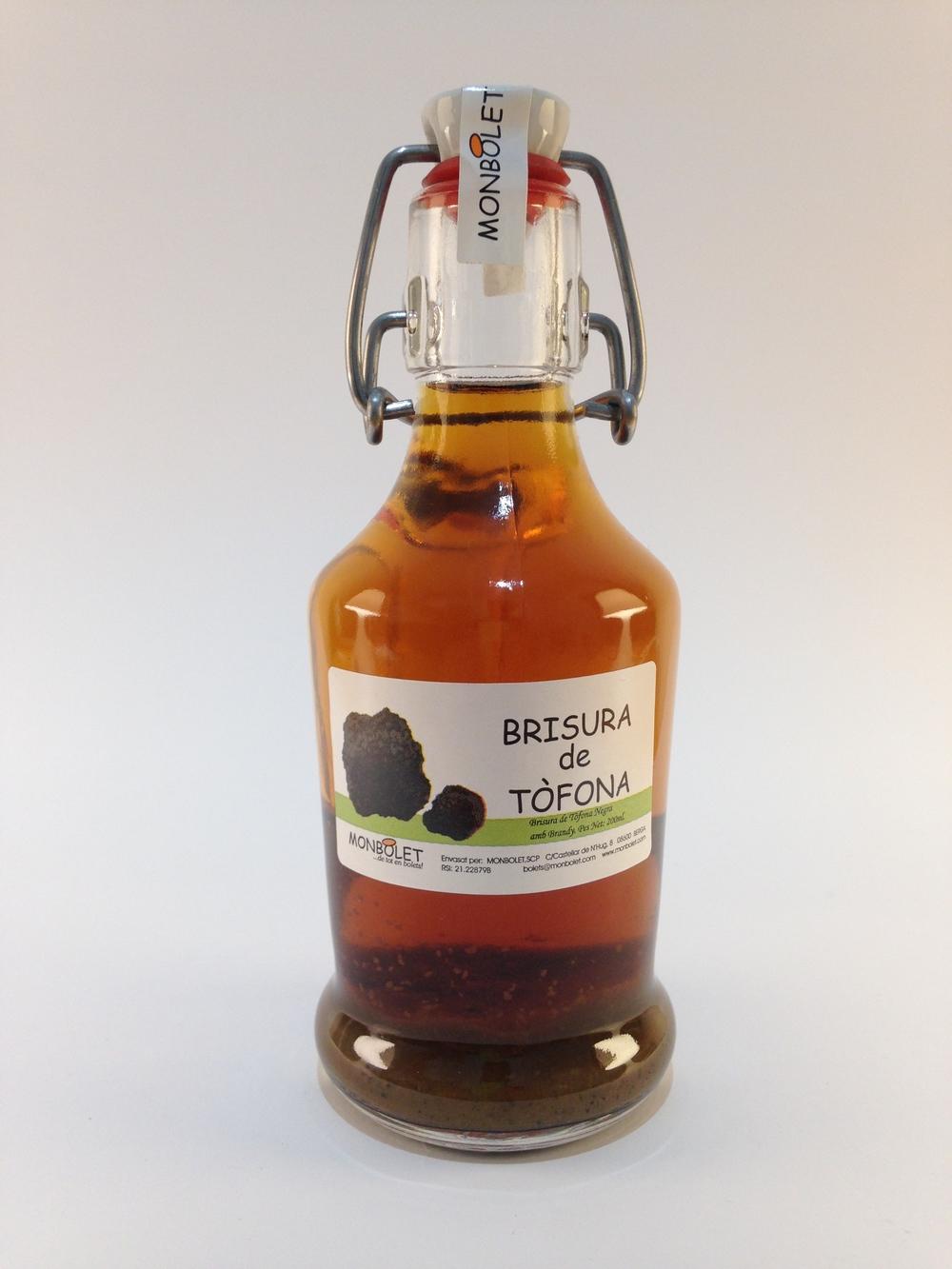 Brisura de tòfona en brandy